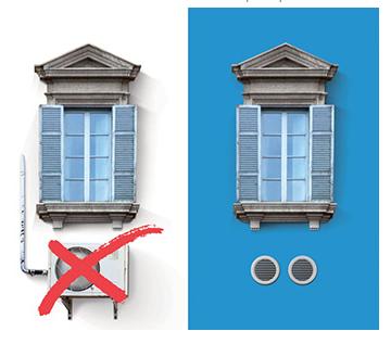 climatizzatore senza unità esterna unico smart termoidraulica jolly a roma