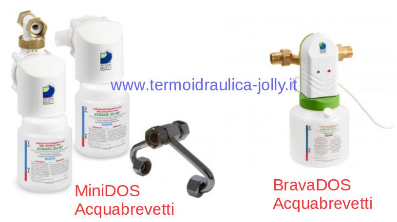 DOSATORE MINIDOS e BRAVADOS ACQUABREVETTI ACQUASIL 20 40 TERMOIDRAULICA JOLLY A ROMA