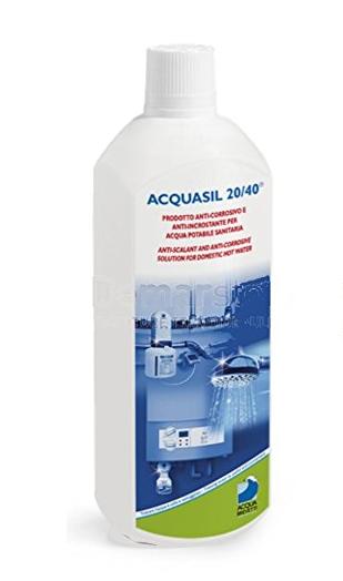 acquasil 20 40 ricarica per minidos e bravados termoidraulica jolly a roma