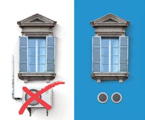 climatizzatore unità esterna unico olimpia splendid a roma termoidraulica-jolly.it zona tiburtina
