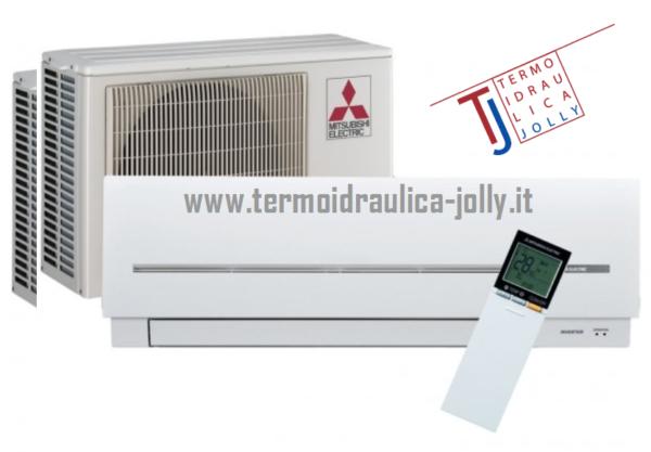 climatizzatore mitsubishi electric msz sf a roma www.termoidraulica-jolly.it zona tiburtina