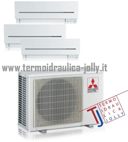 climatizzatore mitsubishi electric trial split a roma www.termoidraulica-jolly.it zona tiburtina