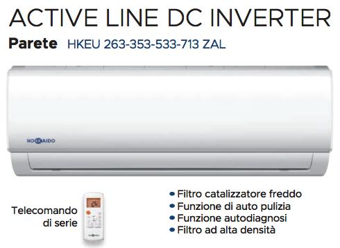 Monosplit – Active Line DC Inverter R32