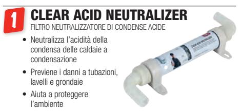 filtro neutralizzatore di condense acide gel a roma