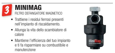 minimag gel a roma - filtro defangatore magnetico gel a roma