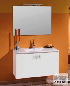 modello SABRINA 900 promozione mobili bagno